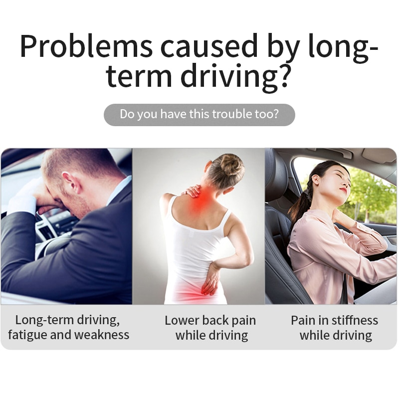 Car Headrest Neck Pillow Support Universal Soft Neck Pillows Cushion Memory Foam Lumbar Back Support Interior Automotive Goods enlarge