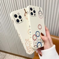 pretty doll pattern phone case for iphone 12 pro max 11 x xs xr xsmax se2020 8 8plus 7 7plus 6 6s plus liquid silicone cover