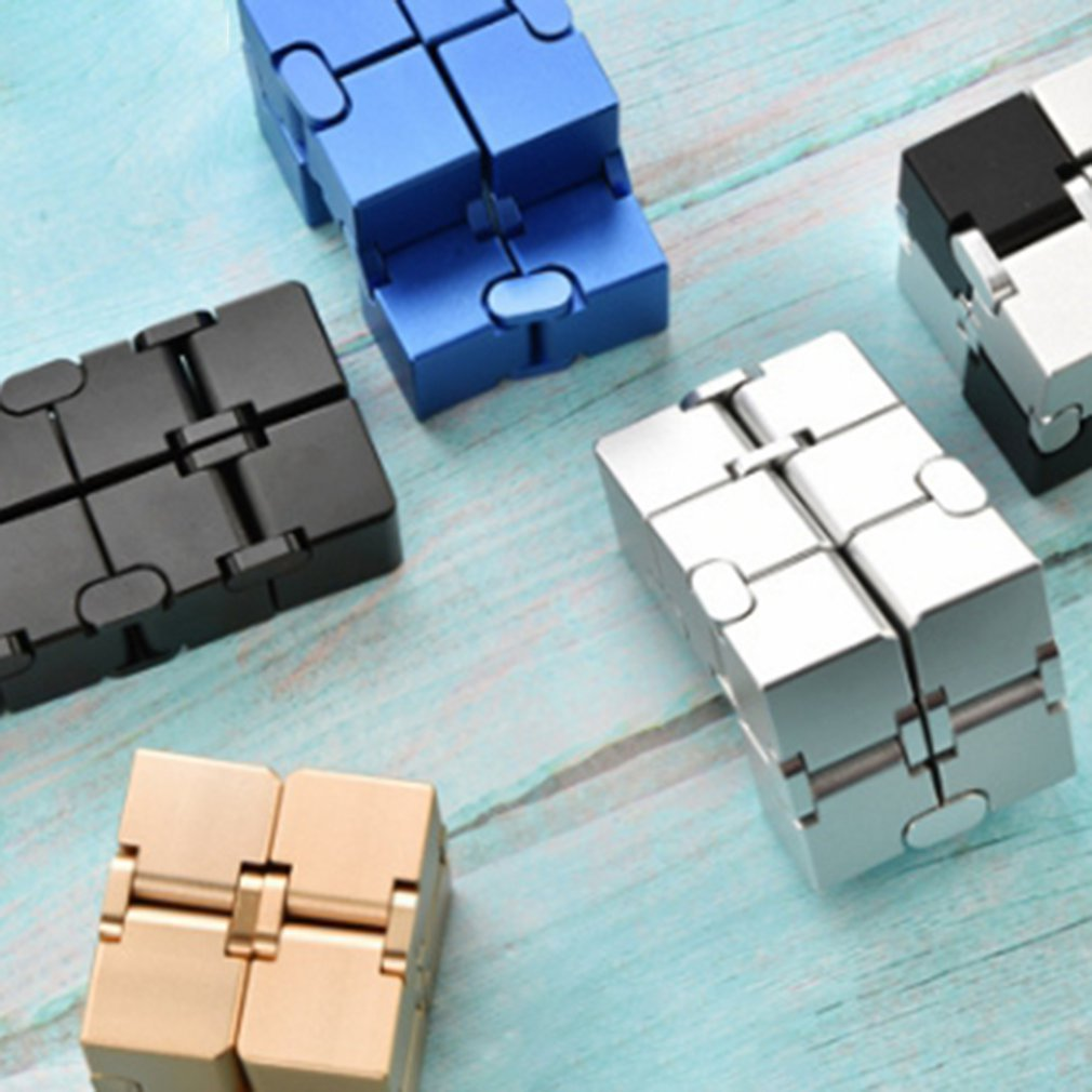 2020 antistress Infinite Cube Infinity Cube Cool Cube Office Flip Cubic Puzzle Stress Reliever Autism Toys relax toy for adults enlarge