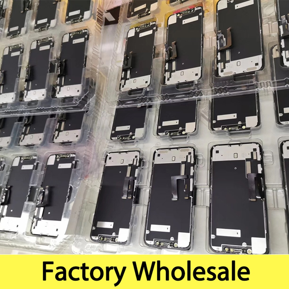 Factory Wholesale 100% New Lcd for iPhone XR Display Screen Touch With Metal Factory Display For iPhone XR Lcd touch Screen enlarge