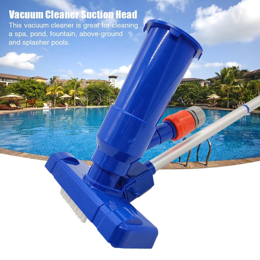 1 Juego con cepillo de agua caliente para el hogar, cabezal de aspiradora portátil para piscina, accesorios de Herramientas de limpieza para Spa, fuentes sobre el suelo al aire libre