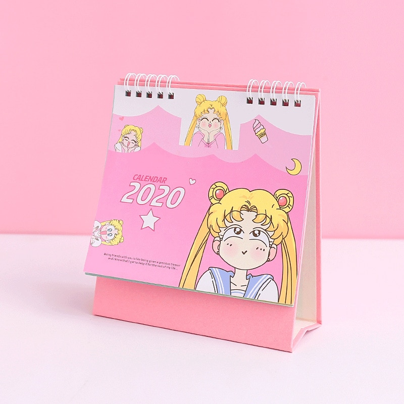 2020 mini marinheiro lua calendário meninas kawaii cosplay acessórios anime sailor moon tsukino usagi princesa serenidade cosplay presente