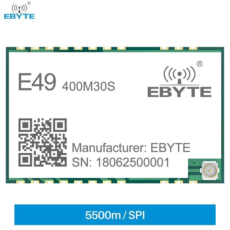 e49 400m20s 433mhz 20dbm cmt2300a chip wireless modules cost effective wireless data transmission spi module long range ebyte CMT2300A 433MHz 470MHz 30dBm 5.5km IPEX/Stamp Hole Wireless Data Transmission Module Low Power Receiver EBYTE E49-400M30S