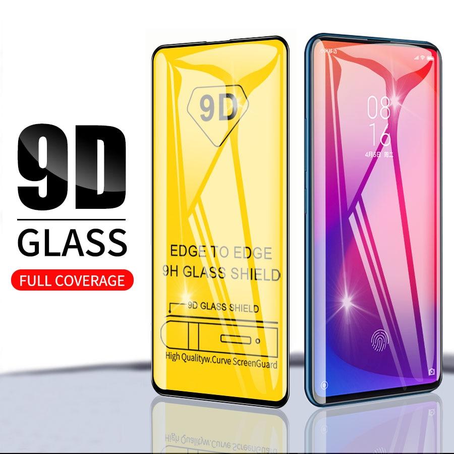 9D completa de vidrio templado para Xiaomi Redmi note Nota7 8 K20Pro...