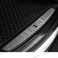car trunk tail rear door threshold sill protector anti scratch for tesla model x 2017 2018 2019 2020 2021 2022 accessories auto