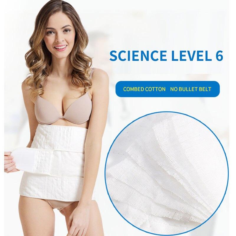 Mujeres embarazadas madres postparto body shaping abdomen cinturón moldeador cuerpo belleza algodón transpirable gasa cintura señoras