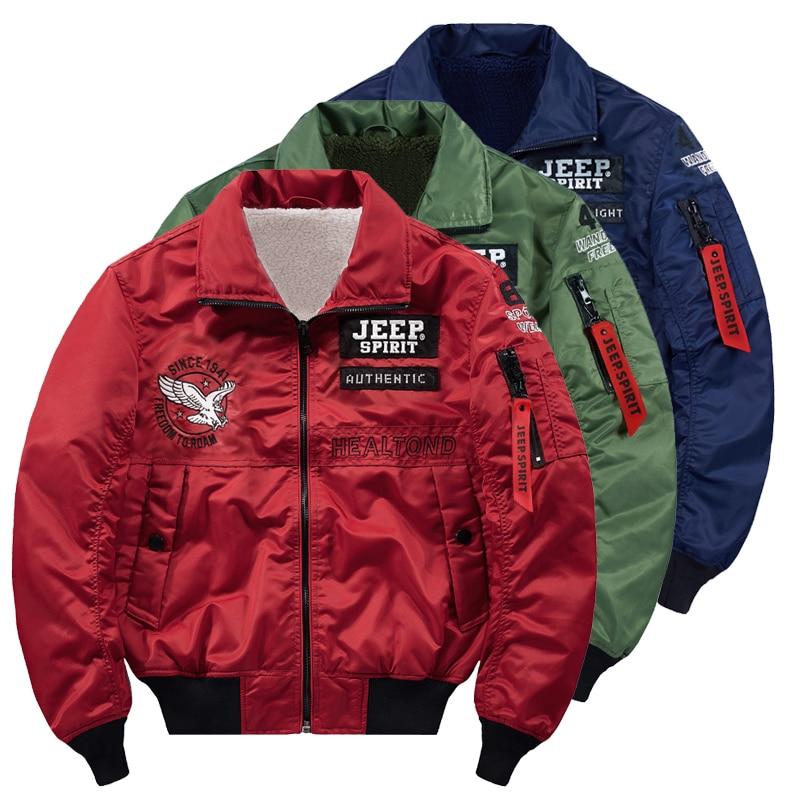 Giapponese streetwear hip hop giacca da uomo in pile allentato volo army Ma-1 giacca pilota degli uomini degli uomini di spessore di giacca a vento parka cappotto 4XL