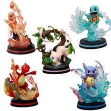 Figuras de Pokemon TAKARA TOMY GK Dream Charmander Bulbasaur, juguetes de tortuga Jenny, figura de Anime Pikachu, figura de acción, muñeca modelo para niños