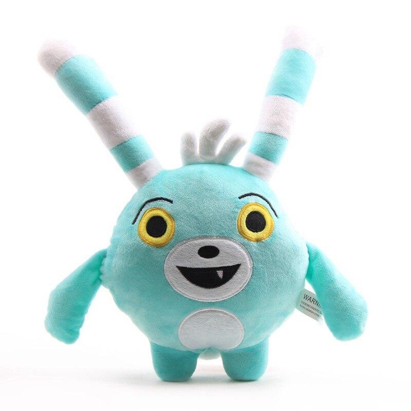 1 шт. 30-50 см аниме Abby Hatcher Bozzly Кролик Плюшевые Kawaii кролик мягкие плюшевые игрушки для детей рождественские подарки