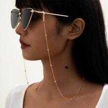 Fashion Pearl Glasses Chain Women Men Eyeglass Cord Sunglasses Cord Retainer Holder Eyewear Lanyard