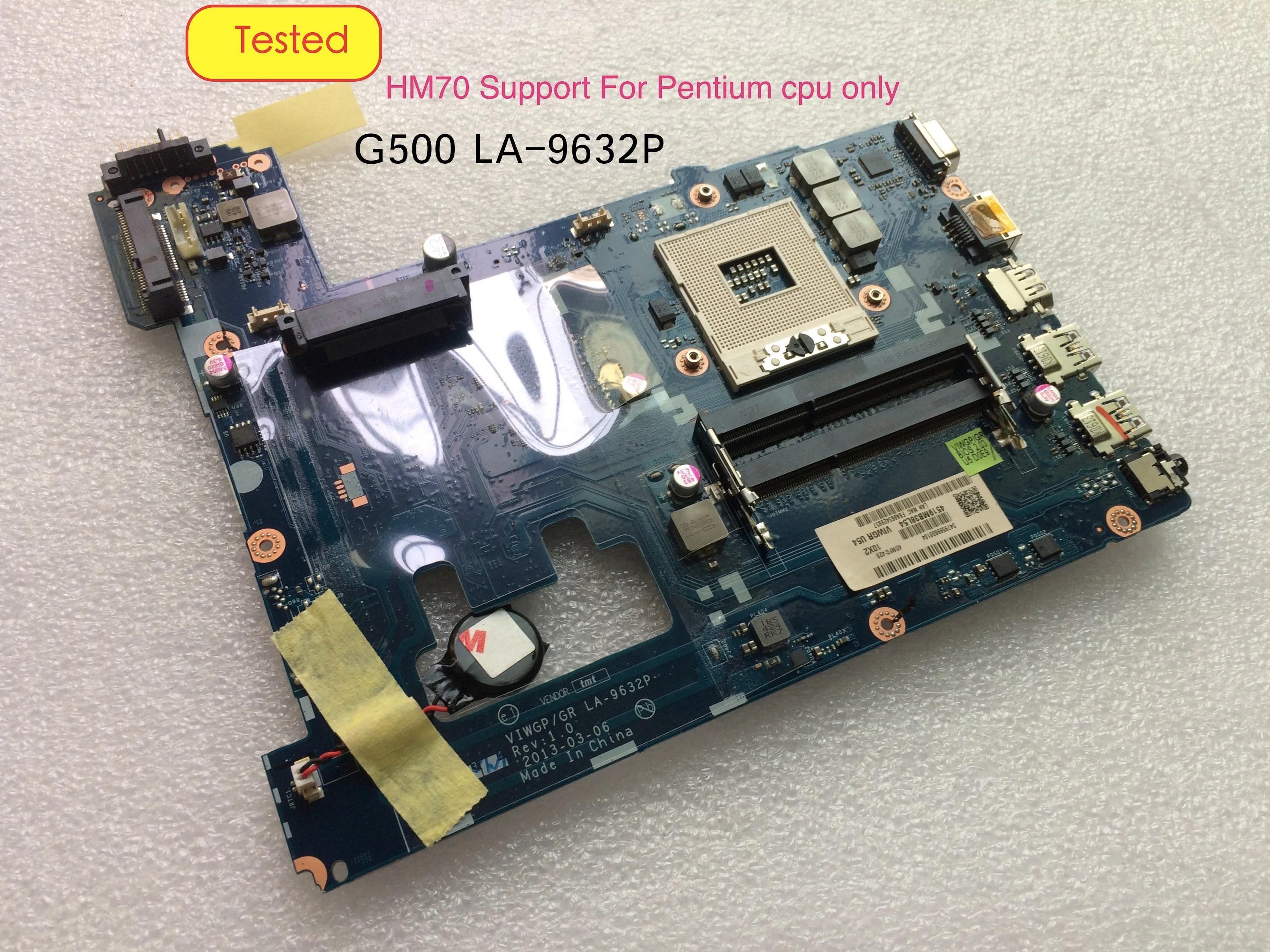 الأصلي لينوفو G500 VIWGP/GR LA-9632P الكمبيوتر المحمول اللوحة الأم