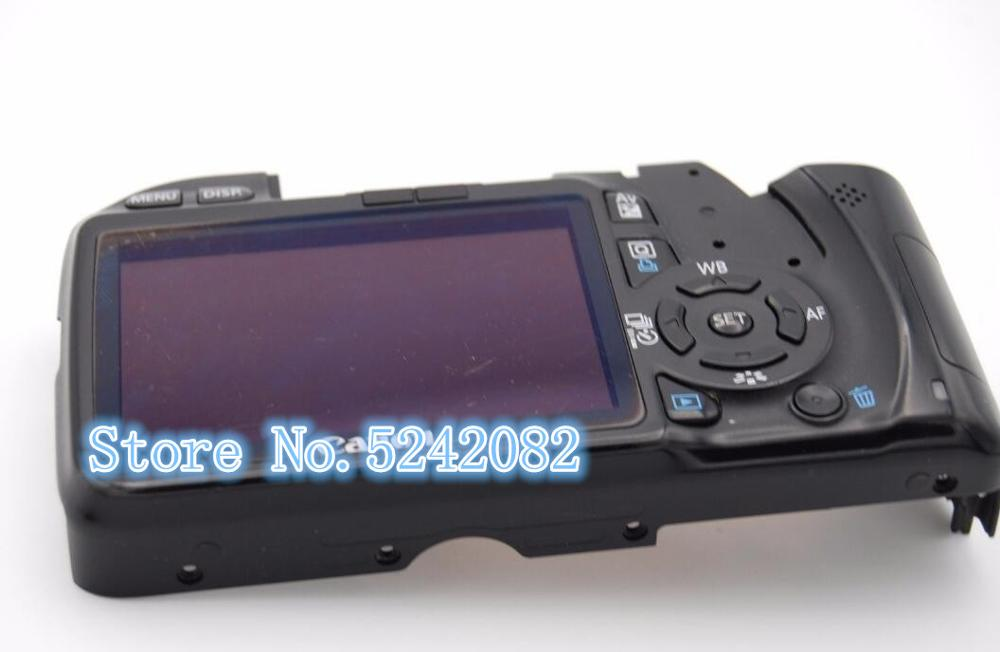 Nowy dla Canon 550D tylna tylna pokrywa przypadku z LCD i Flex Cable i przycisk