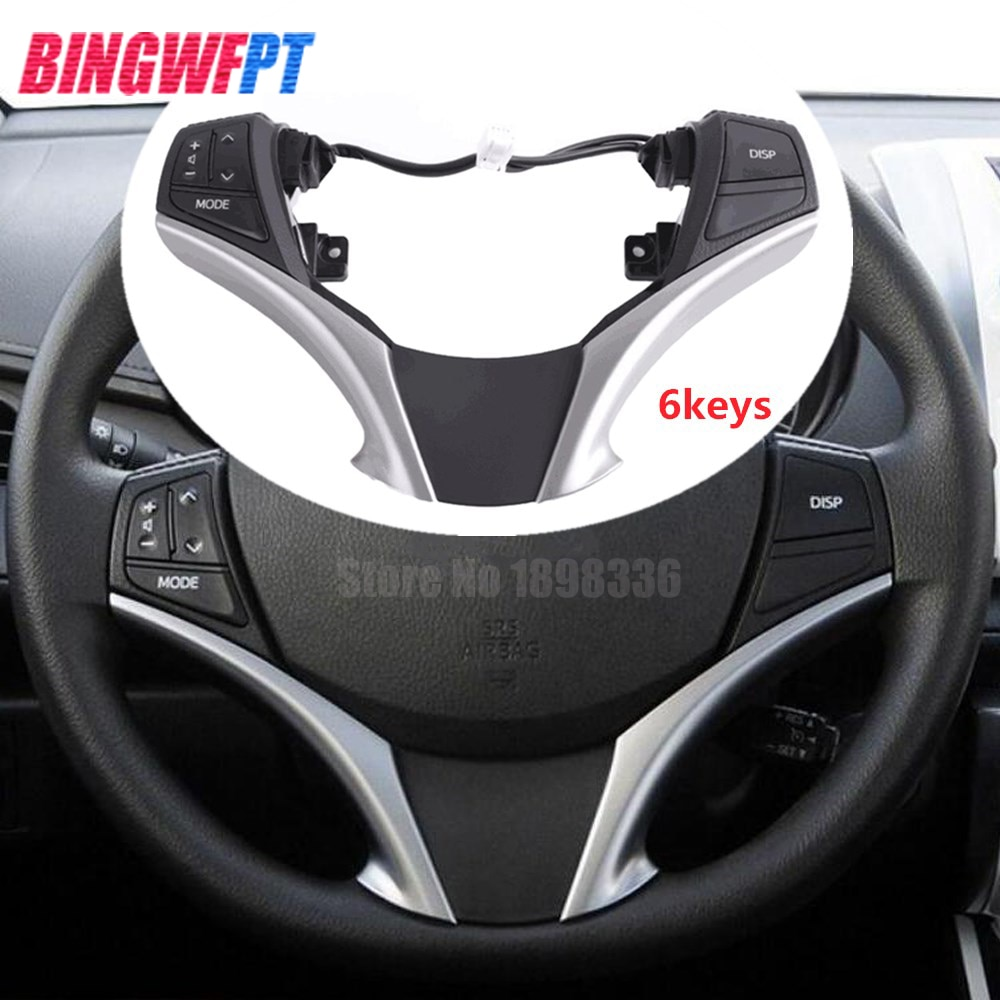 84250-0D120-E0 Original dirección interruptor de control de audio para Toyota Yaris 13-15 Corolla RAV4 84250-0D120 842500D120