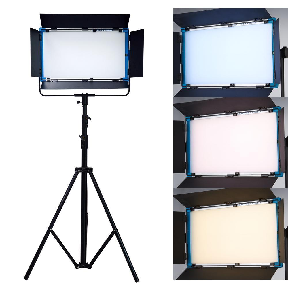 Yidoblo A-2200BI LCD Display Pro LED Lamp Soft light Bio-color led panel light For Photography Lamp APP Remote control set