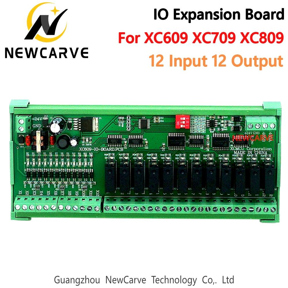 نظام التحكم CNC للوحة توسيع XCMCU IO 12 مدخل 12 خرج لـ XC609M XC709M XC809M XC609D XC709D XC809D XC609T NEWCARVE