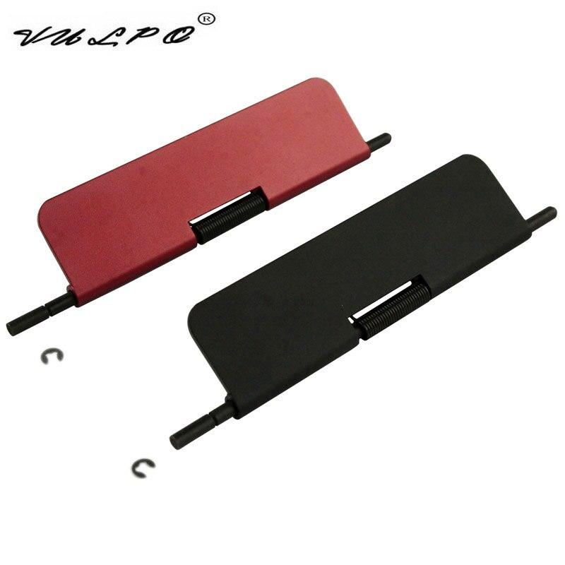 VULPO alta calidad Airsoft CNC aleación de aluminio cubierta de polvo para WA M4 / M16 serie GBB Airsoft Rojo Negro