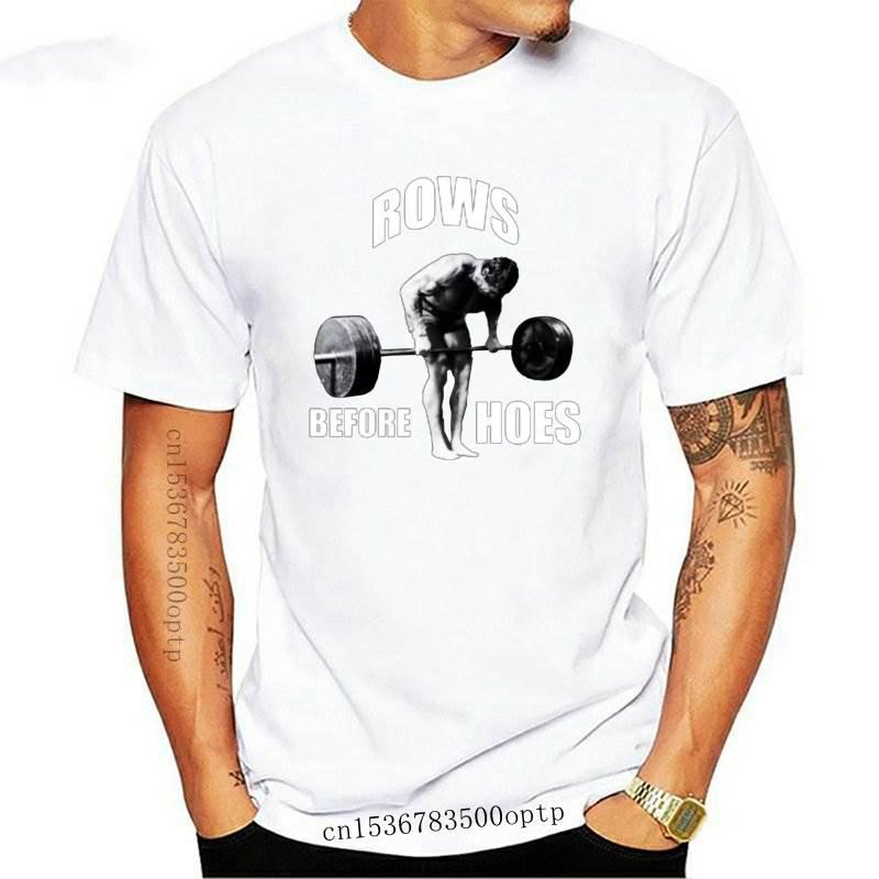 Camiseta divertida para hombres, mujeres, novedad, gimnasio, Humor, filas antes de azadas...