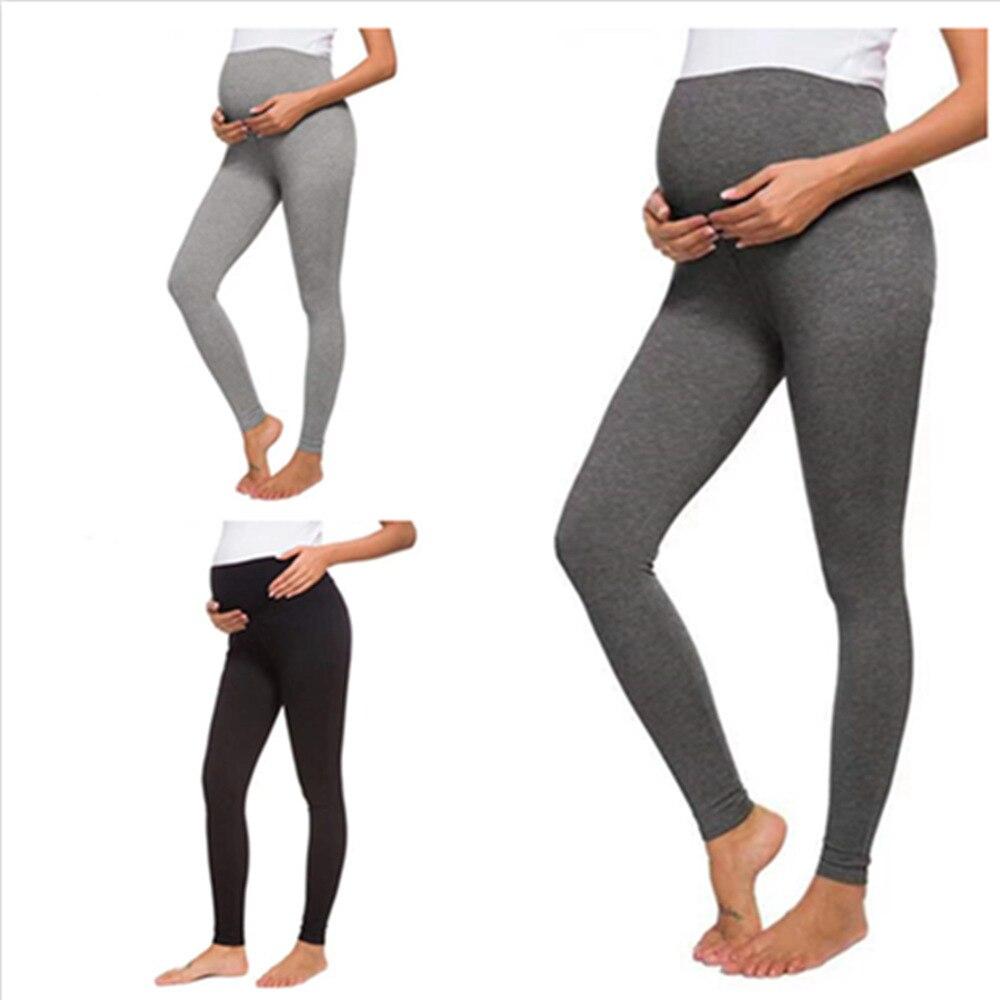 Pregnancy Leggings Maternity Pants for Women Pregnancy Clothes High Waist Maternity Leggings Tights Leggings for Pregnant Women