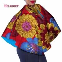 autumn long sleeve shirt women cotton shirt african wax print floral tops shirt bazin riche african style clothing wy3645