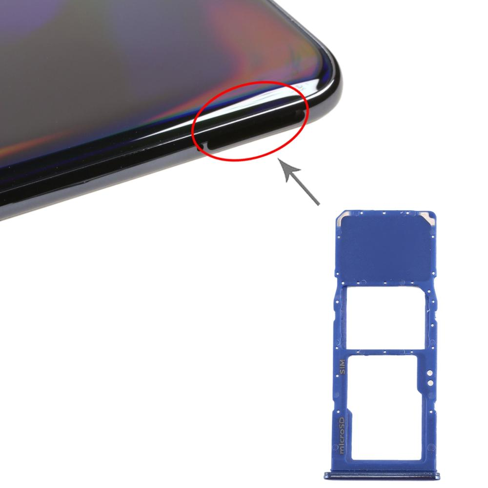 SIM Card Tray + Micro SD Card Tray for Galaxy A70