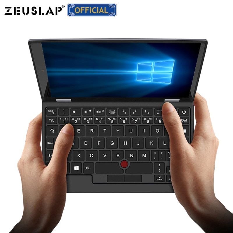 Portable Ultrabook Mini PC Notebook Laptop 7inch Intel J3455 Touch Screen WIN10 8GB RAM up to 1TB ROM Dual Band WIFI