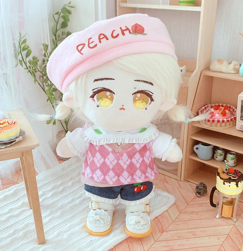 20 см Плюшевая Кукла Одежда Брюки сменная одежда аксессуары для корейской Kpop EXO Idol куклы одежда Поклонники подарок