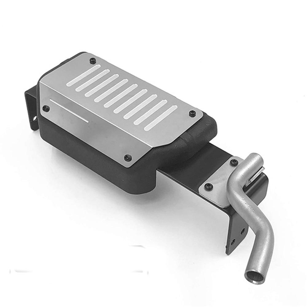 Simulation Oil Tank+Exhaust Pipe for 1/ 6 CAPO Samurai Jimny RC Car Accessories Parts Decoration