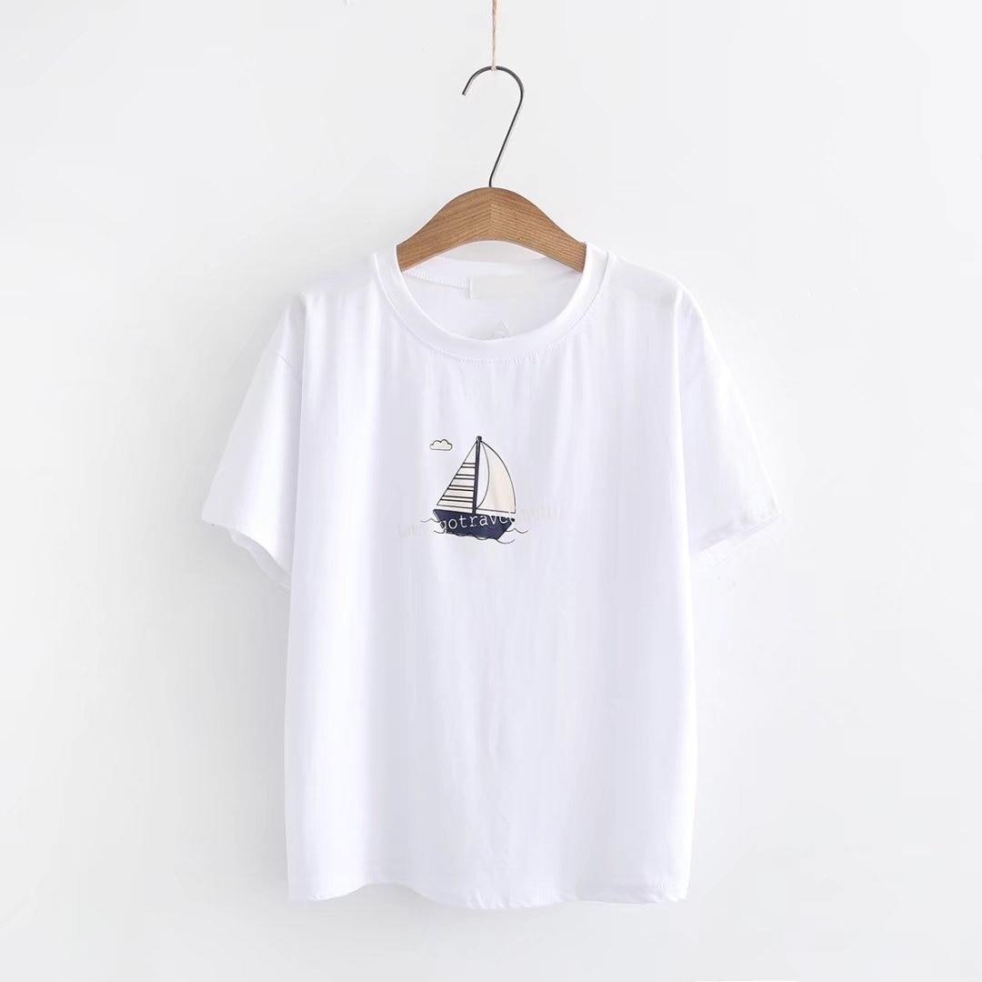 2019 100% cotton casual Print Women tshirt Casual Cotton  Funny t shirt For Lady Ship
