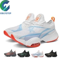 air cushion shoes sneakers for men comfortable stretch shoes outdoor fitness sports shoes travel casual shoes gym