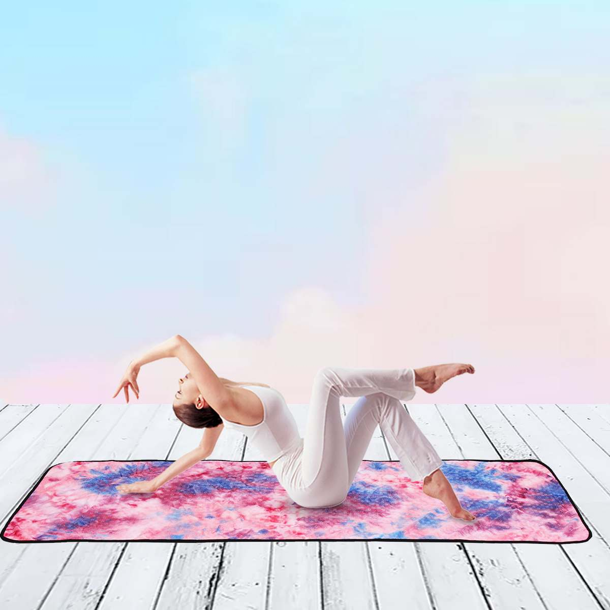 183*63CM Yoga Mate Yoga Handtuch-Super Weichen, Saugfähigen, nicht-Slip Bikram Hot Yoga Handtücher für Matte-Ideal für Hot Yoga & Pilates