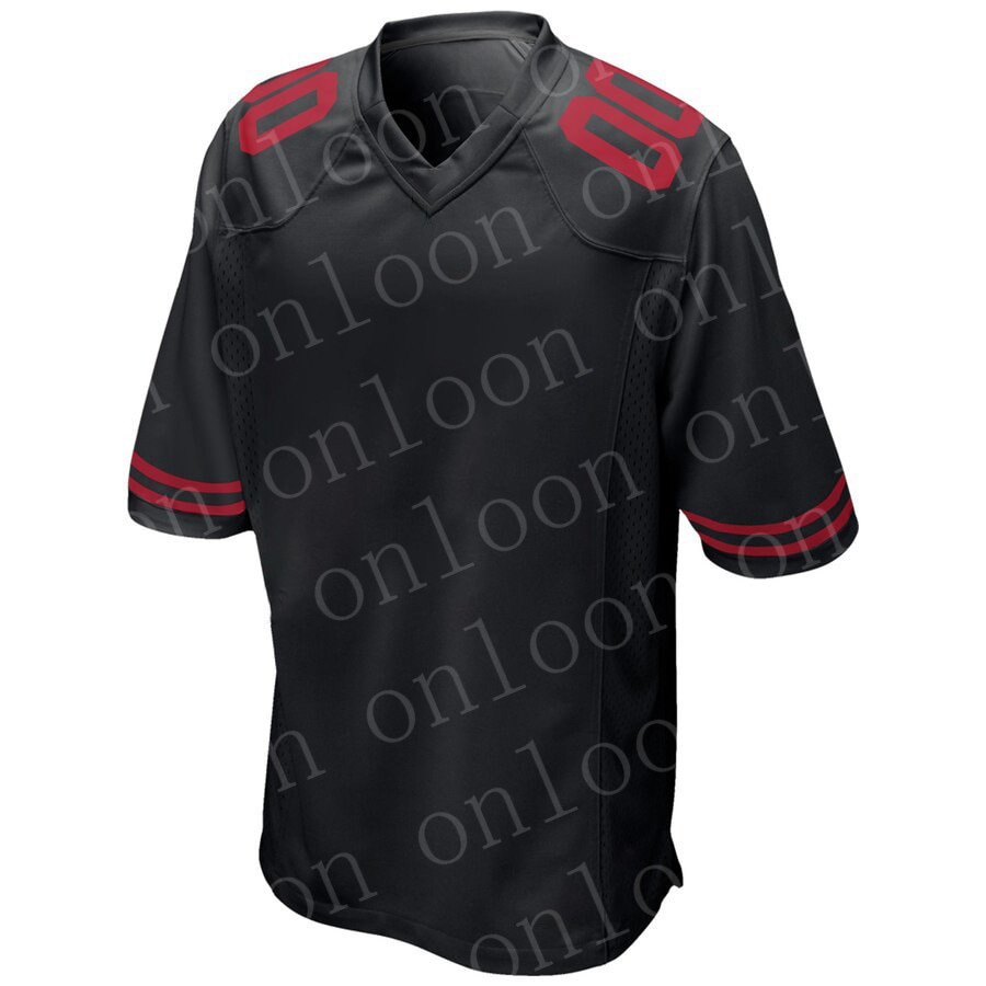 Game 2020 New Black American football San Francisco Jersey George Kittle Nick Bosa Jimmy Garoppolo Jerry Rice Deion Jerseys