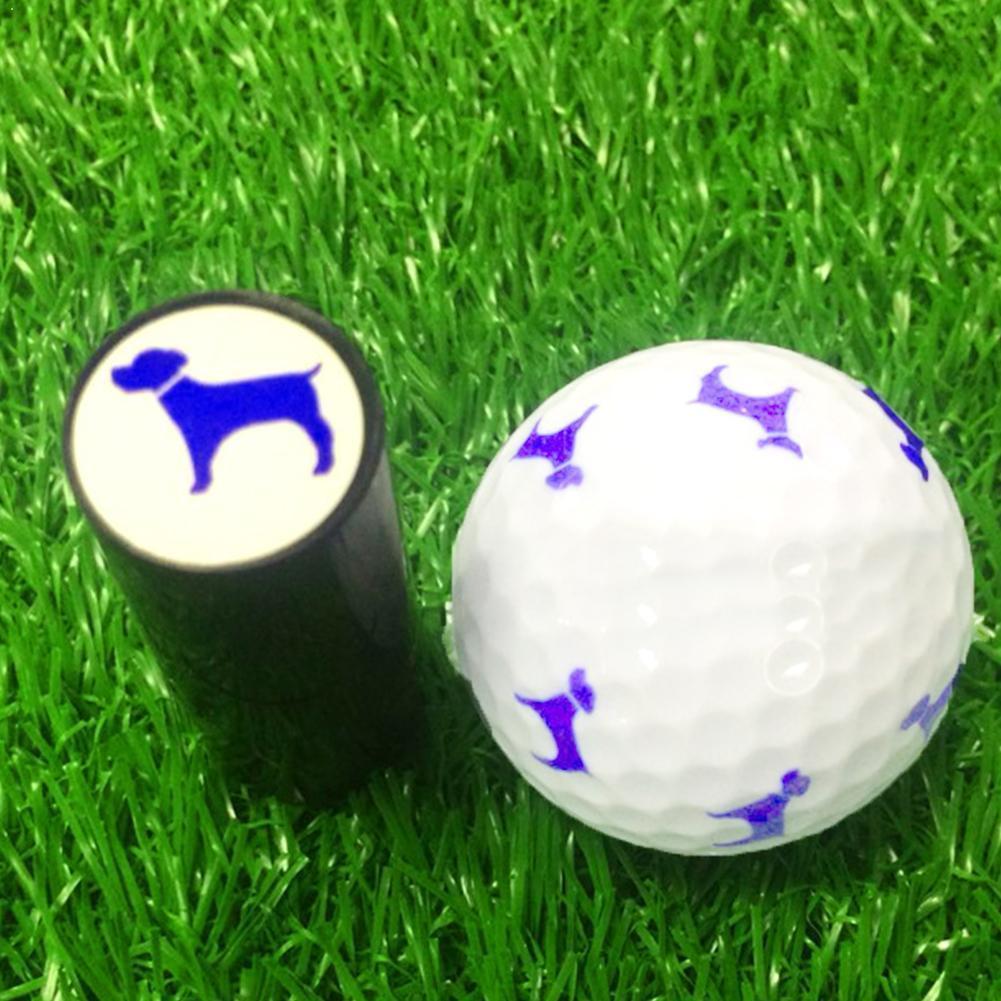 Plastic Siliconen Golfbal Stamper Stempelzegel 1Pcs Golf Voor Golfer Print Indruk Gift Marker Bal Kleur Stamper Prijs ra C8P7