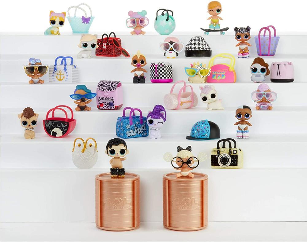 1 Pièces 100% original L. O. L. Surprise LOLs poupées Lils relooking série 5 vague 2 paquet LOLS poupées pour animaux de compagnie avec boîte pour les enfants