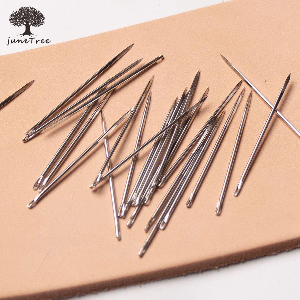 10 шт./компл. кожаная швейная игла, треугольная головка, ручная швейная булавка, специальная для кожевенного ремесла