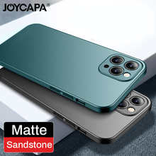 Ultra Slim Matte Frosted Phone Case For iPhone 12 Mini 11 Pro Max XR Xs Max X 10 8 7 Plus Hard PC Plastic Thin Back Cover Fundas