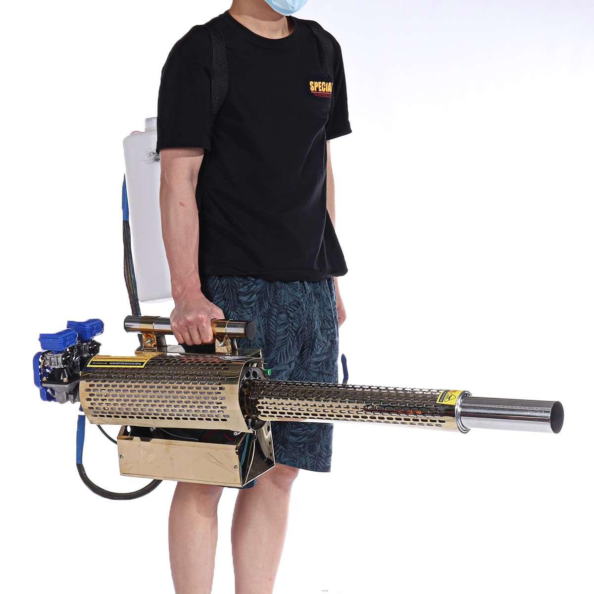 Draagbare Puls Soort Thermische Fogger Machine Desinfectie Beslaan Machine Ulv Spuit Spray Machine Vernevelaar Mosquito Pest 15L