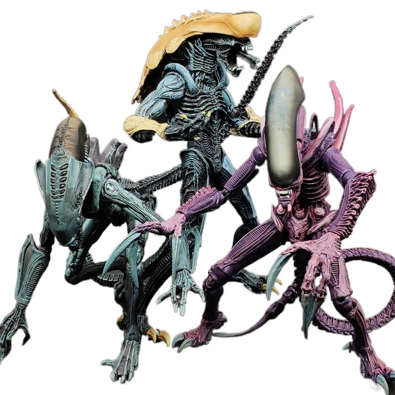 Figura de acción de Alien Dog Vs. Predator, juguete de resina de...