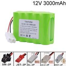 12V 3000mAh NI-MH batterie 10x AA Ni-MH batterie pour Rc jouets voitures réservoirs Robots bateaux pistolets 12V Double pont NI-MH batterie