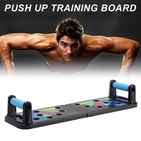 push up board fitness kit multi purpose body building home fitness kit for men women with carrying pouch wholesale dropshipping