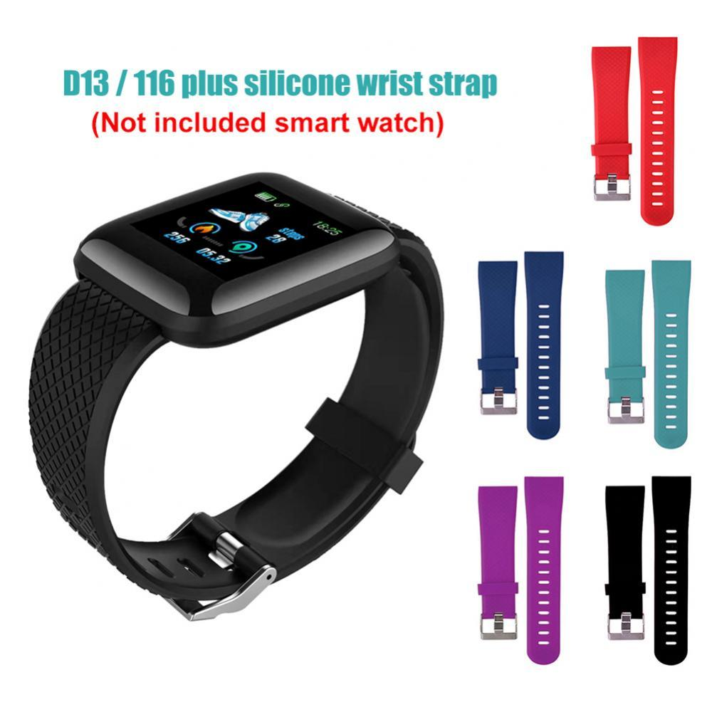 Replacement Silicone Soft Watchband Wrist Strap for 16 Plus/D13 Smart Watch Wearable Devices Smart Accessories smart watches mykronoz zetielpg wearable devices wrist watch accessories
