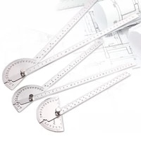 protractor arm measure ruler angle finder gauge stainless steel 0 150mm