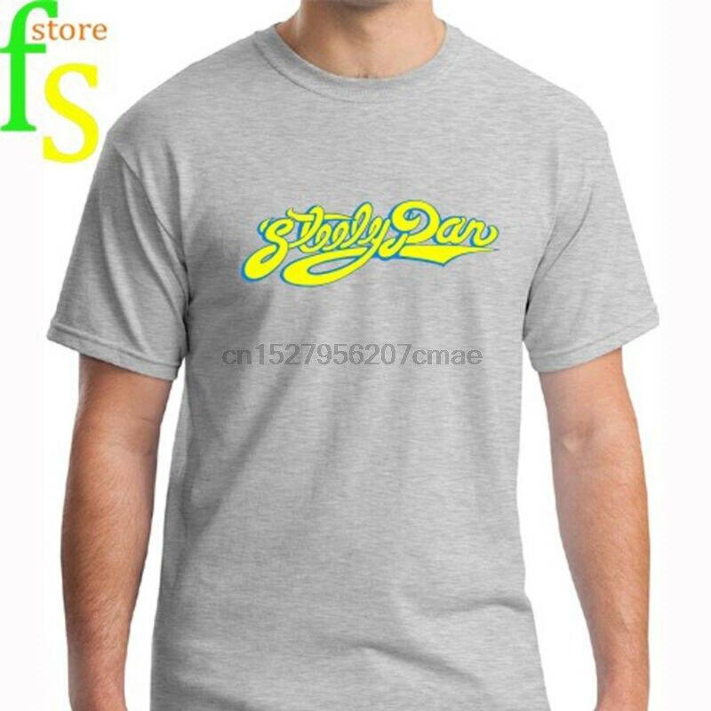 Steely dan logo rock clássico música lenda aja masculino cinza camiseta tamanho s a 3xl
