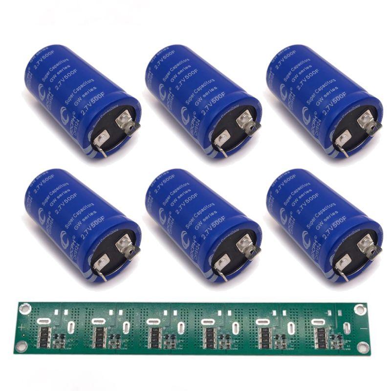 Super Farad Capacitor 2.85V 700F High Frequency Low ESR Flat Feet Single New enlarge
