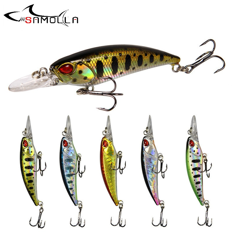 AliExpress - Minnow Fishing Lures 2019 Weights 5g Topwater Lure Bass Fishing Lure Isca Artificial Articulos De Pesca Fishing Bait