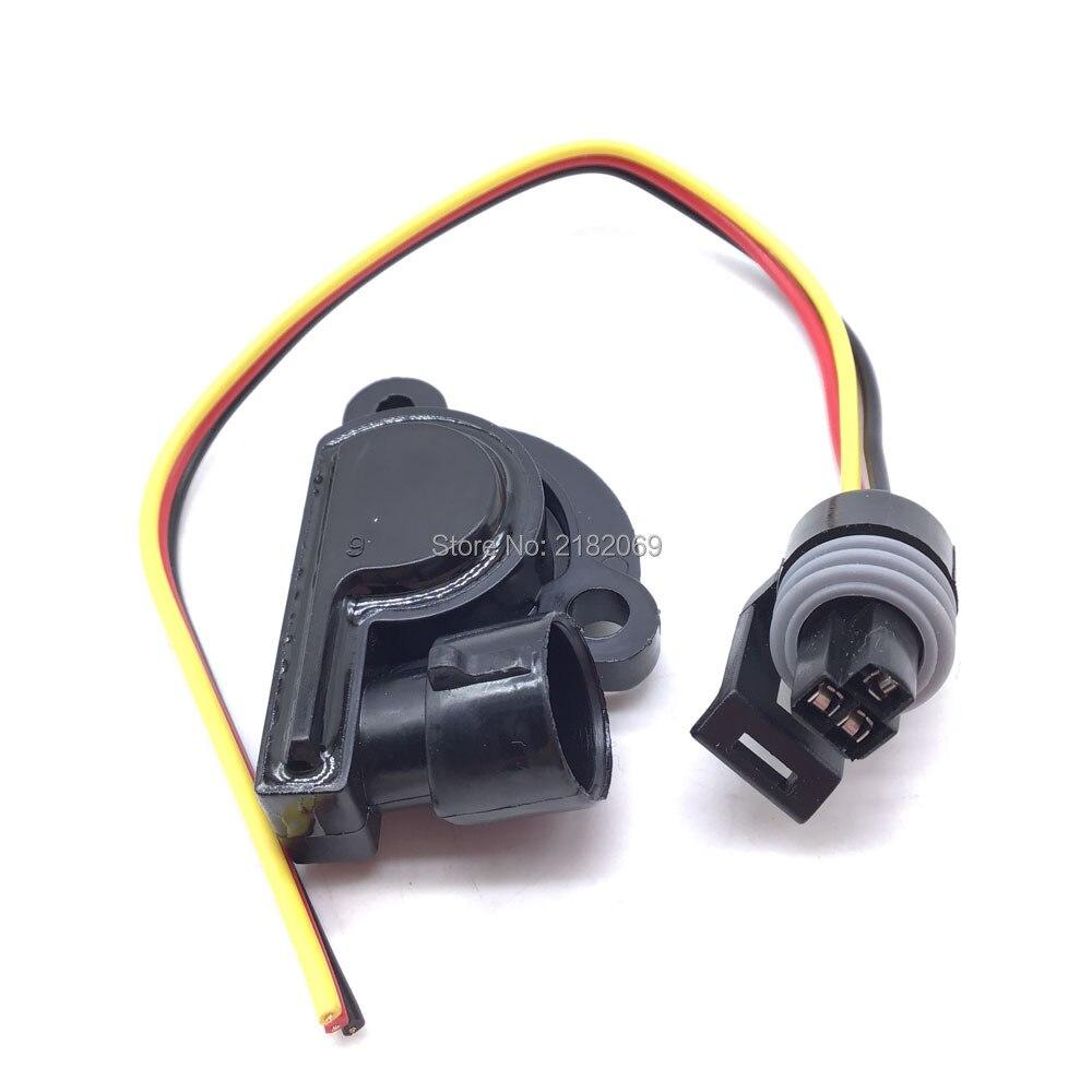 TPS Drossel Position Sensor Mit Zopf draht Für Daewoo Opel Vauxhall BUICK CADILLAC CHEVROLET 17106681 ,17080671
