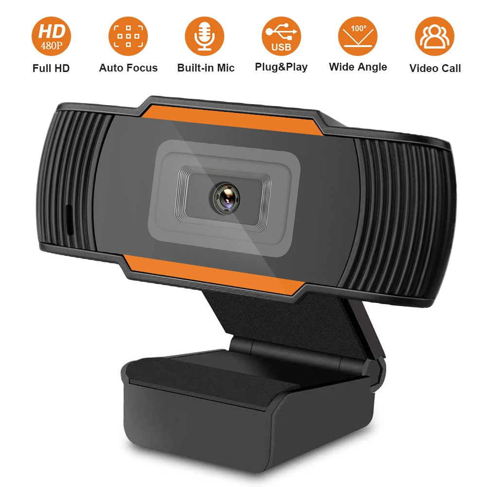 USB Web kamerası HD 480P Video kayıt kamera canlı Web kameraları Microsoft HP bilgisayar mikrofon çevrimiçi Webcam