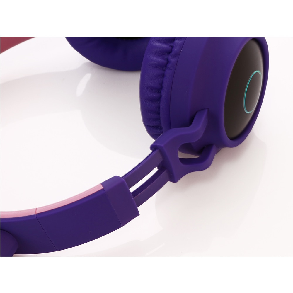 Wireless Headphones, Led Lighting Cat Oren 5.0 Bluetooth Compatible Headphones, Music Earphones for Children and Girls enlarge
