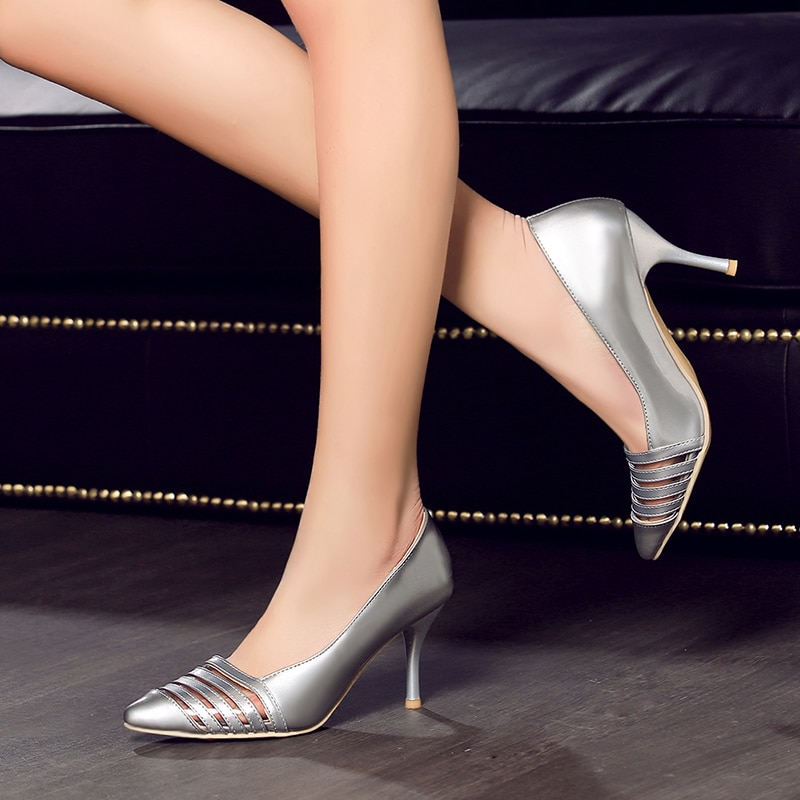 Plus Size Thin High Heels Shoes