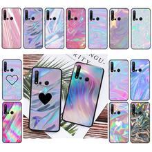 Babaite Pastel Metallic Tumblr Phone Cover For Huawei P20 P30 Pro P20 P30 lite P smart Z Y5 Y6 Y7 Y9 Prime 2019