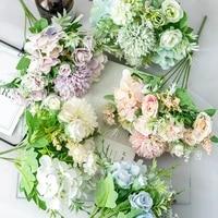 Simulation Rose mariage tenant Bouquet mariage photographie accessoires floraux decoration de la maison Simulation fleurs